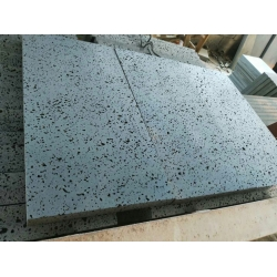 Honed Black Basalt Lava Stone Tile